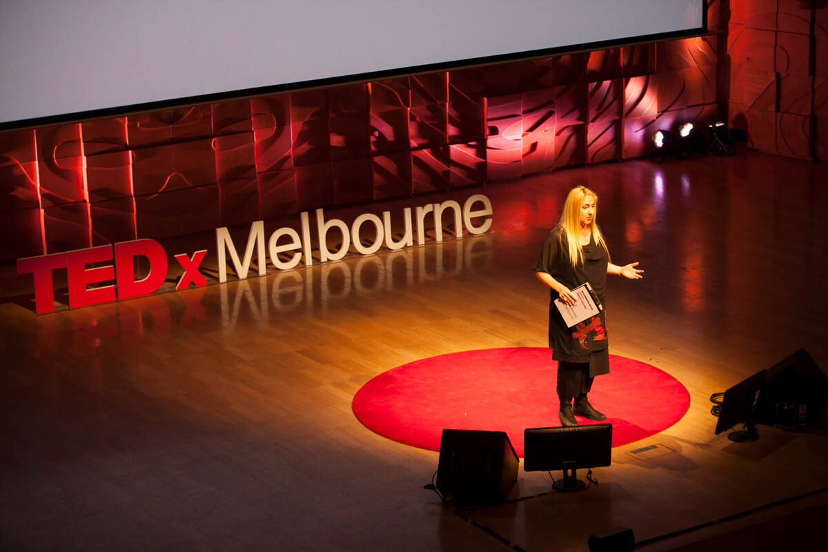 Zara Swindells-Grose at TEDxMelbourne Seeing The Unseen 2013