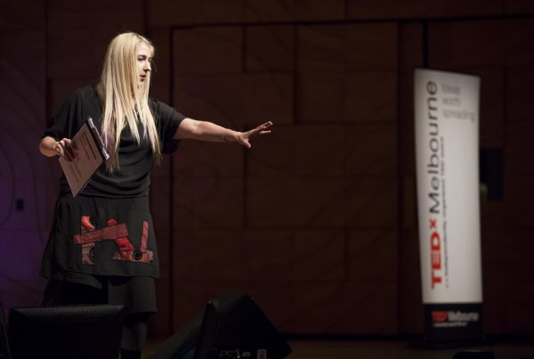 Zara Swindells-Grose Melbourne Ted Talk - Professional speaker coaching